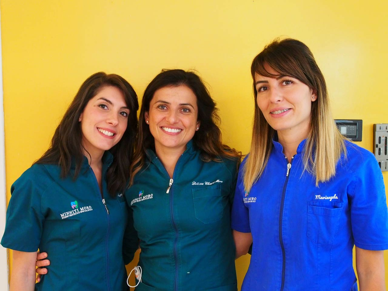 STAFF DELLO STUDIO DENTISTICO MINNITI MORO